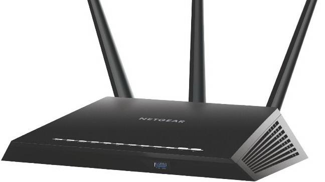 Рутер Netgear R7000, 4PT AC1900 (600 + 1300 Mbps)<br/>Цена: 386,90 лв.