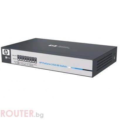 Мрежов суич HEWLETT PACKARD HP V1410-8G Switch