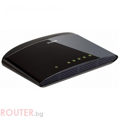 Мрежов суич D-LINK 5-Port 10/100Mbps Fast Ethernet Unmanaged Switch