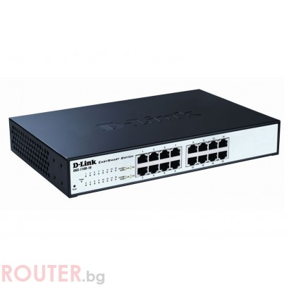 Мрежов суич D-LINK 16-port 10/100/1000 EasySmart Switch