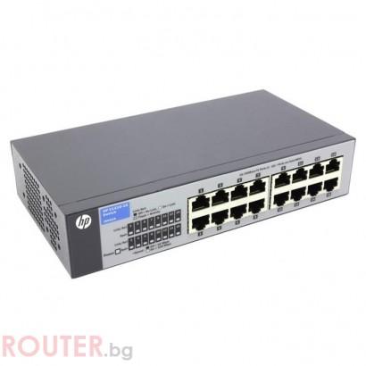Мрежов суич HEWLETT PACKARD HP 1410-16 Switch