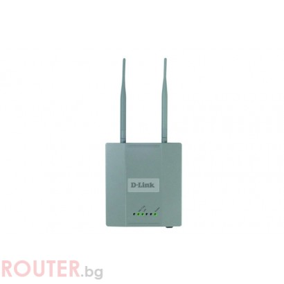 Мрежово устройство D-LINK AirPremierTM 54/108Mbps 802.11g Wireless LAN Indoor AP w/ PoE - Second Hand (ремаркетиран продукт)