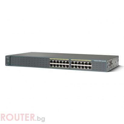 Мрежов суич CISCO Catalyst 2960 24 10/100 LAN Lite Image