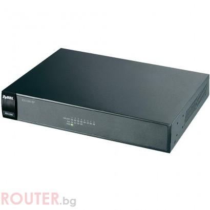 Мрежов суич ZyXEL ES1100-8P 8-port Ethernet switch