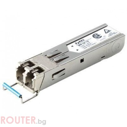 Мрежов суич ZyXEL SFP-LX-10-D (Single-Mode) transceiver, (LC), 10km