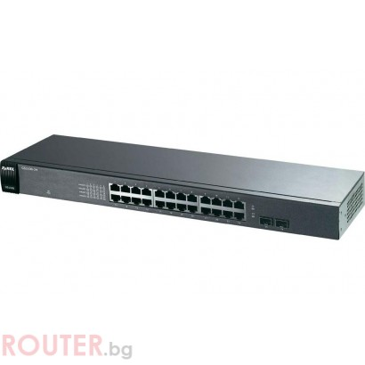 Мрежов суич ZyXEL GS1100-24 24-port  Gigabit Ethernet switch
