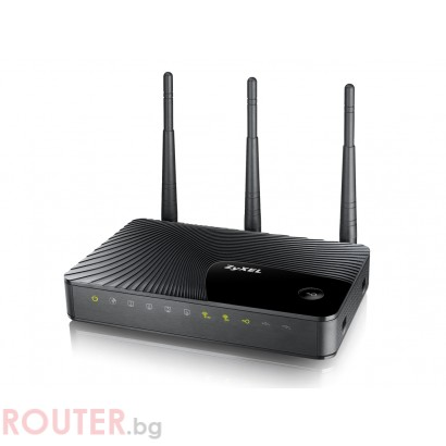 Рутер ZyXEL NBG5615 Dual-Band Wireless N750 Media Router