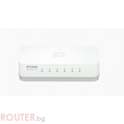 Мрежов суич D-LINK 5-Port 10/100M Desktop Switch