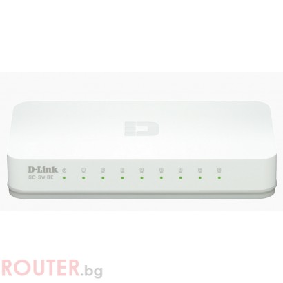 Мрежов суич D-LINK 8-Port 10/100M Desktop
