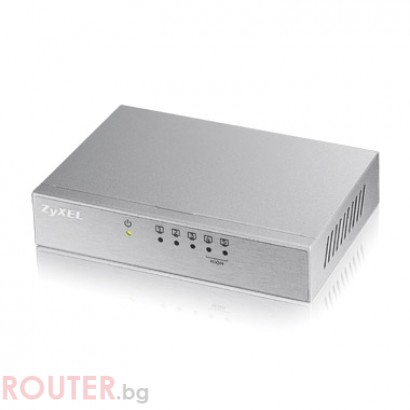 Мрежов суич ZyXEL ES-105AV2, 5-port 10/100Mbps Ethernet switch