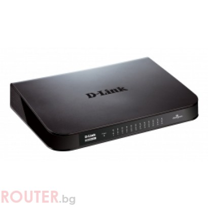 Мрежов суич D-LINK 24-Port Gigabit Easy Desktop Switch