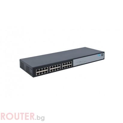 Мрежов суич HP 1410-24G-R Switch