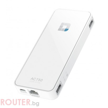 Рутер D-LINK Wi-Fi AC750 Portable Router and Charger