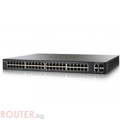 Мрежов суич CISCO SF200-48P 48-Port