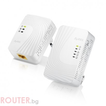 Powerline адаптери ZYXEL PLA4231 + ZYXEL PLA4201 500Mbps