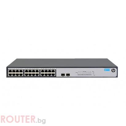 Мрежов суич HP 1420-24G-2SFP