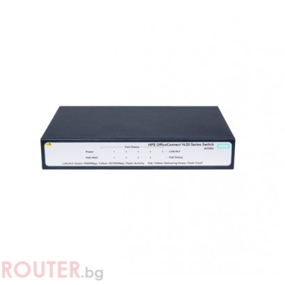 Мрежов суич HP HPE 1420 5G PoE+ (32W) Switch