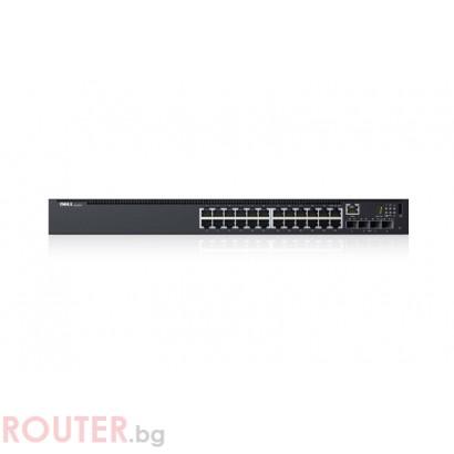 DELL Networking N1524 1GbE + 4x 1024xGbE