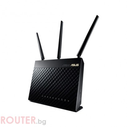 Рутер Asus RT-AC68U, Wireless-AC1900 Dual-Band USB3.0 Gigabit