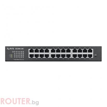 Мрежов суич ZYXEL GS1900-24E (ремаркетиран продукт)