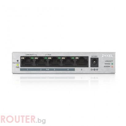 Мрежов суич ZYXEL GS1005-HP
