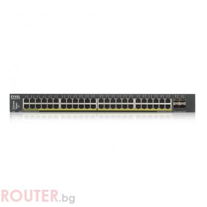 Мрежов суич ZYXEL XGS1930-52HP Smart Managed Switch with 4 SFP+ Uplink