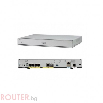 Рутер CISCO ISR 1100 8 Ports Dual GE Ethernet Router w/ 802.11ac -E WiFi