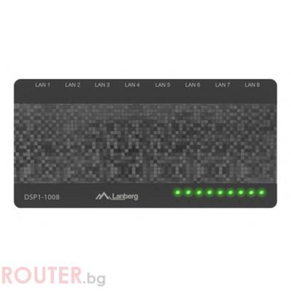 Мрежов суич LANBERG switch DSP1-1008 8-port