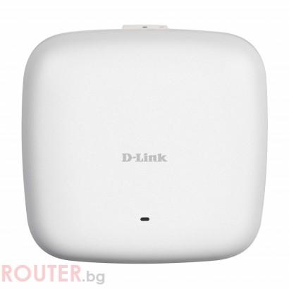 Мрежово устройство D-LINK Wireless AC1750 Wave2 Dual-Band PoE Access Point