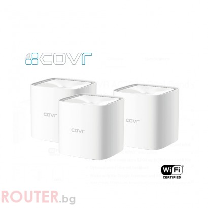 Мрежово устройство D-LINK AC1200 Dual Band Whole Home Mesh Wi-Fi System (3-Pack)