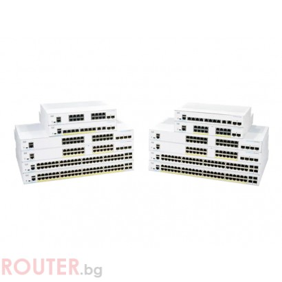Мрежов суич CISCO CBS250 Smart 48-port GE
