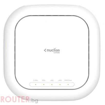 Мрежово устройство D-LINK Wireless AC1900 Wave 2 Nuclias Access Point (With 1 Year License)