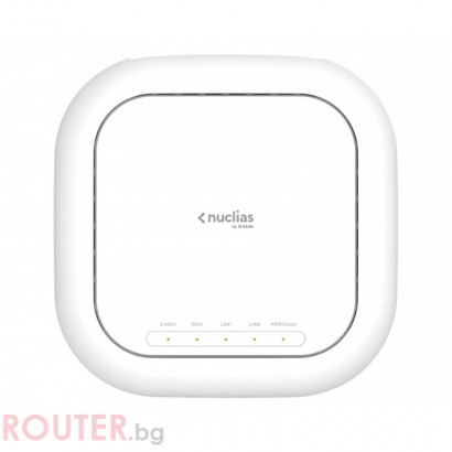 Мрежово устройство D-LINK Wireless AC2600 Wave 2 Nuclias Access Point (With 1 Year License)
