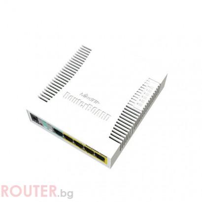 Рутер MikroTik MikroTik RB260GS CSS106-5G-1SR2
