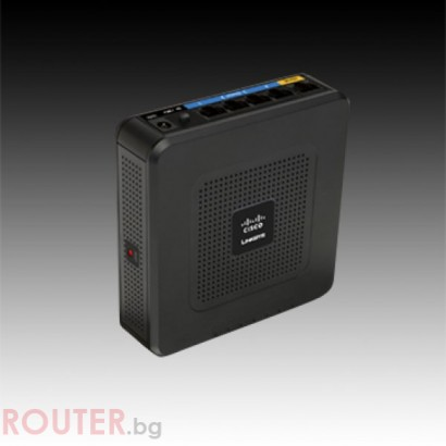 Рутер LINKSYS 10Base-T/100Base-TX, Безжичен