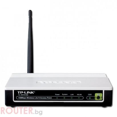 Мрежова точка за достъп TP-LINK 10Base-T/100Base-TX <br/>Безжичен