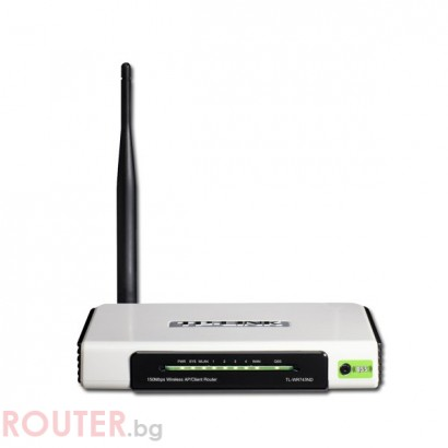 Рутер TP-LINK TL-WR743ND Wireless N, 150Mbs, 4-port