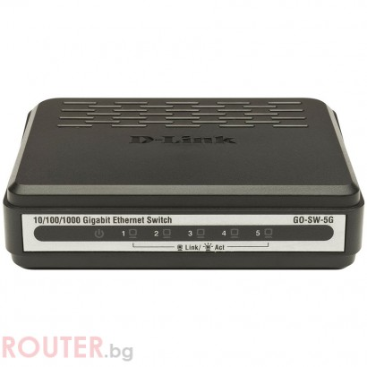 Мрежов суич D-LINK GO-SW-8G/E 8-Port Gigabit Easy Desktop