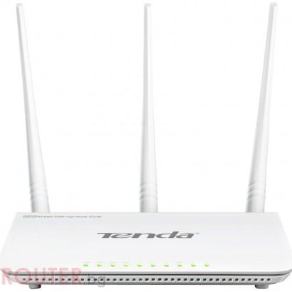 Рутер TENDA FH303 N300 2T3R Wireless-N Broadband 4 LAN Ports