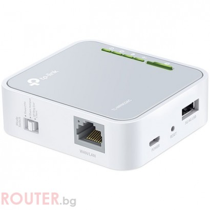 Рутер TP-LINK TL-WR902AC, 2,4GHz, 5GHz Wireless N 300Mbps USB 2.0