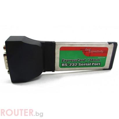 ExpressCard RS-232 Serial Port No brand