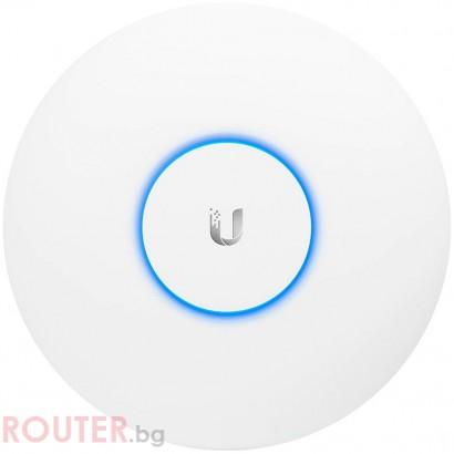 Мрежова точка за достъп UBIQUITI Wi-Fi UniFi AC PRO,450 Mbps(2.4GHz),1300 Mbps(5GHz)