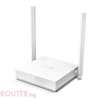 Безжичен рутер TP-LINK TL-WR820N 300Mbps, 5dB антени