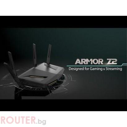 Безжичен Рутер ZYXEL NBG-6817 ARMOR Z2, AC2600, Gigabit, 4K streaming