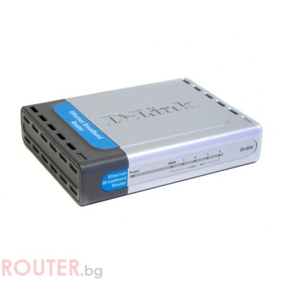 D-Link DI-604 Cable/DSL 4-Port