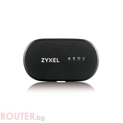 Безжичен портативен рутер ZYXEL WAH7601, LTE 4G, SIM слот