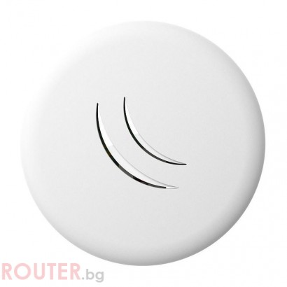 Безжичен Access Point MikroTik cAP lite RBcAPL-2nD, 64MB RAM, 1xLAN 10/100, 802.3af/at, RouterOS