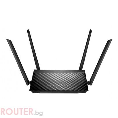 Безжичен рутер ASUS RT-AC1300G PLUS V2 Двубандов AC1300 400+867 Mbps 4 x Gbit USB 2.0