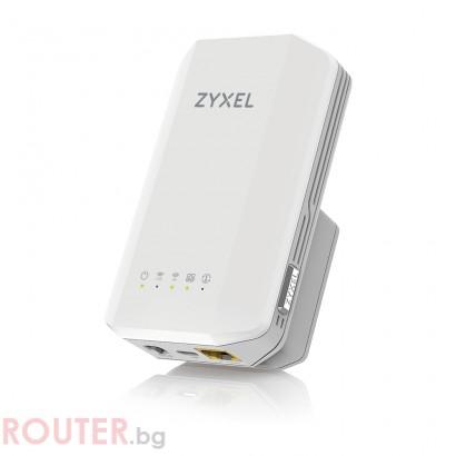 Безжично мрежово у-во ZYXEL WRE6606 AC1300 MU-MIMO Dual Band Range Extender