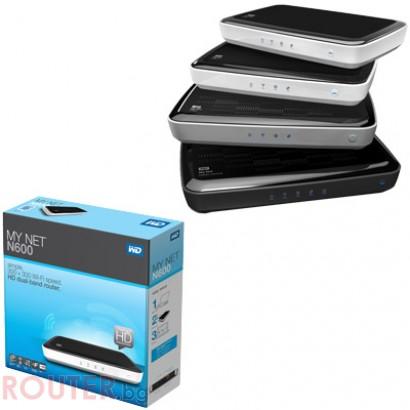 Рутер WESTERN DIGITAL N600 MyNet